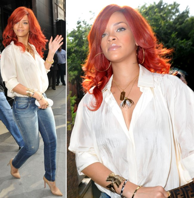 Rihanna Casual Fashion Style