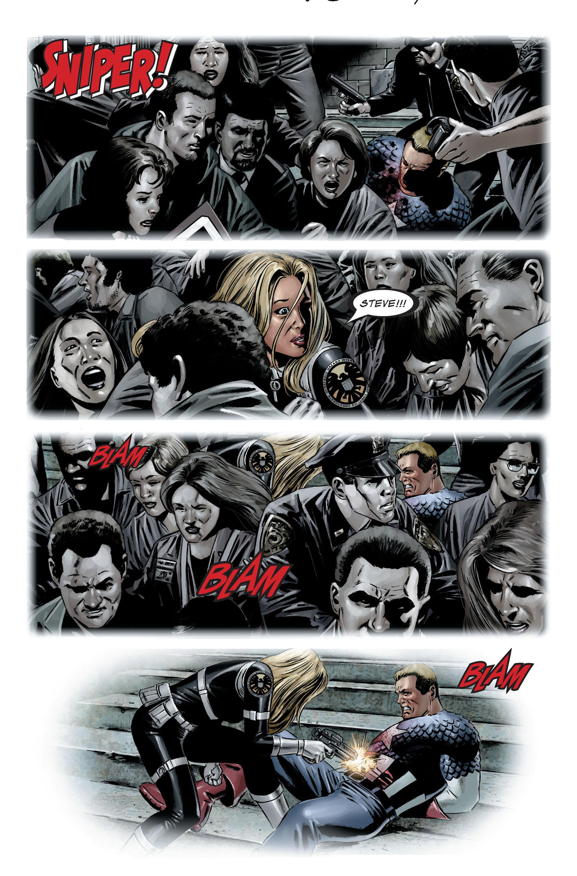 Captain America (2005) Issue #25 #25 - English 33