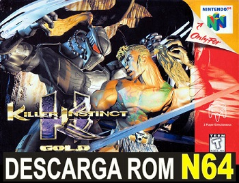 Killer Instinct Gold 64 ROMs Nintendo64