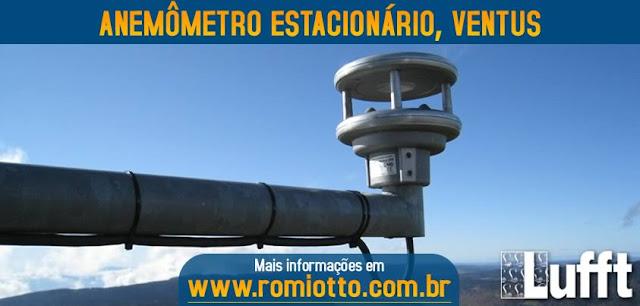Medidor de velocidade e direção do vento VENTUS LUFFT