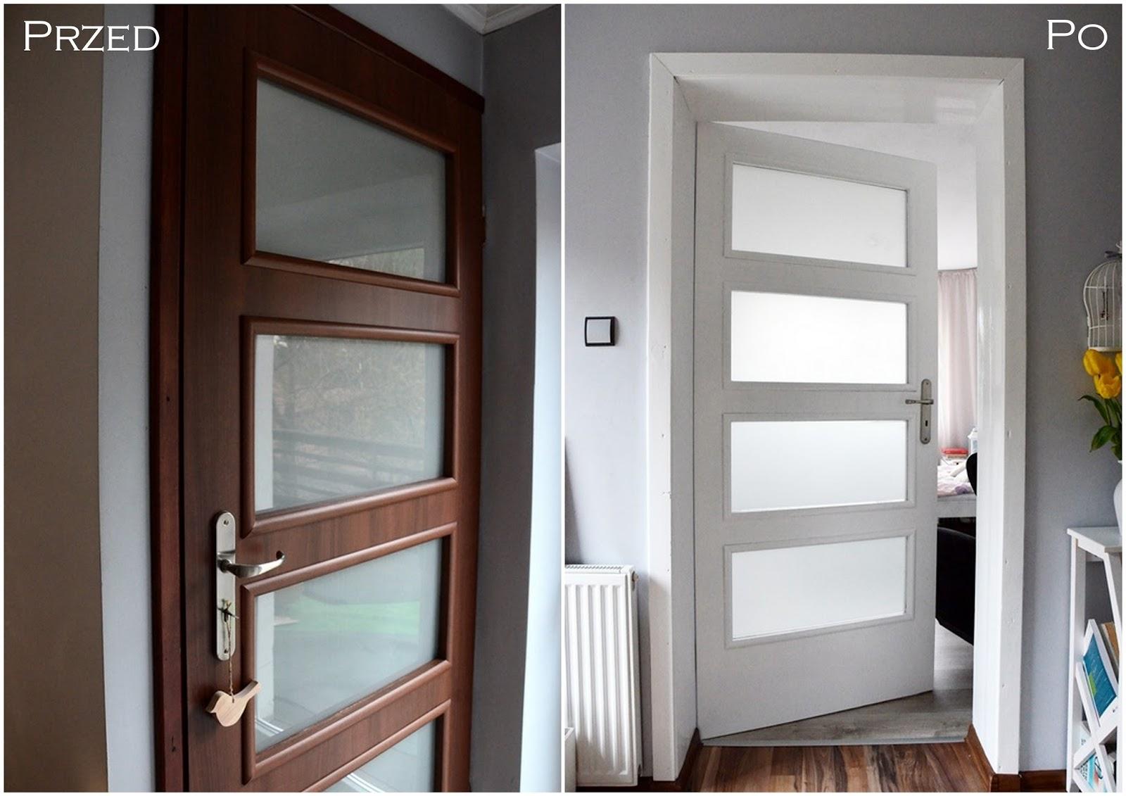 Malowanie drzwi wewnętrznych okleinowanych