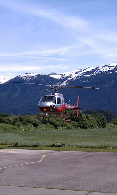 Alaska Adventures: A helicopter ride and glacier walking in Juneau