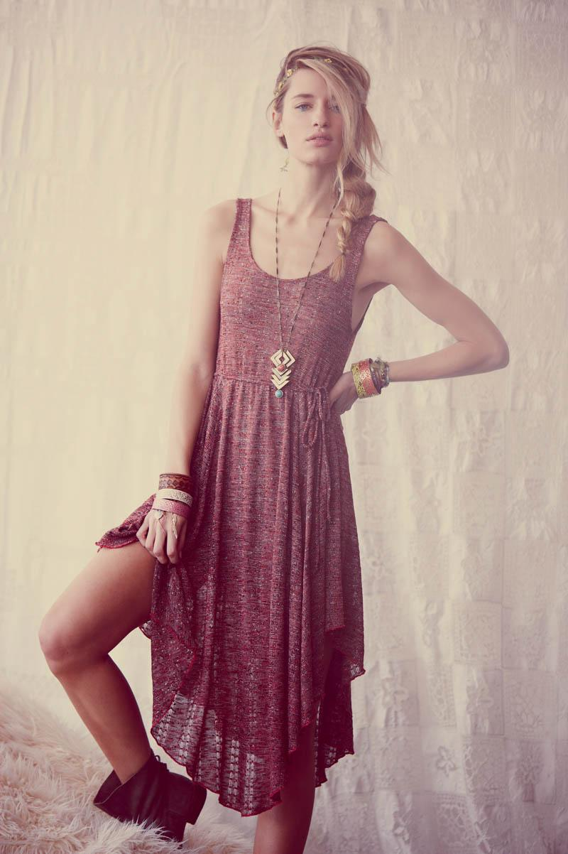 Fashion style Boho hippie dresses for girls