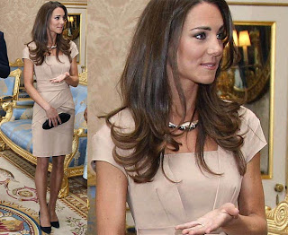 Kate Middleton Meets Michelle Obama