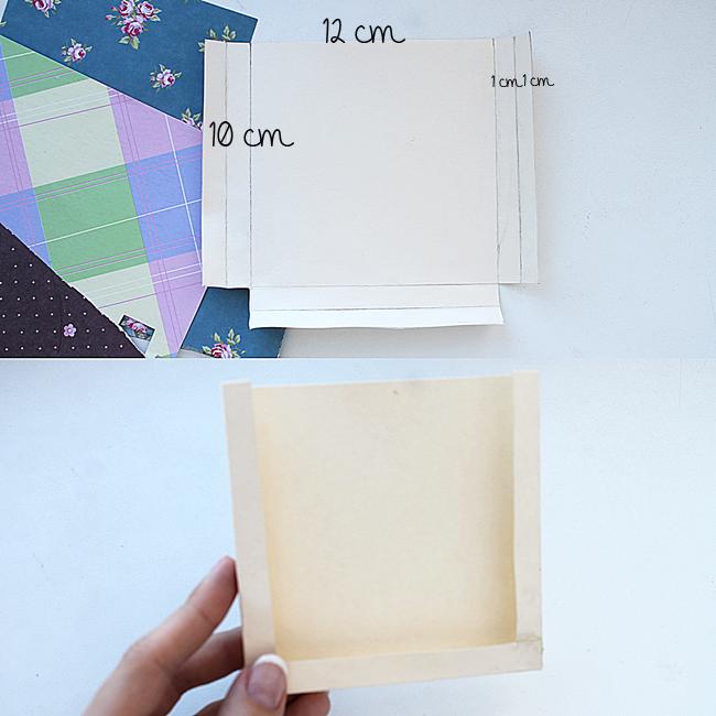 Как сделать карман в открытке 2