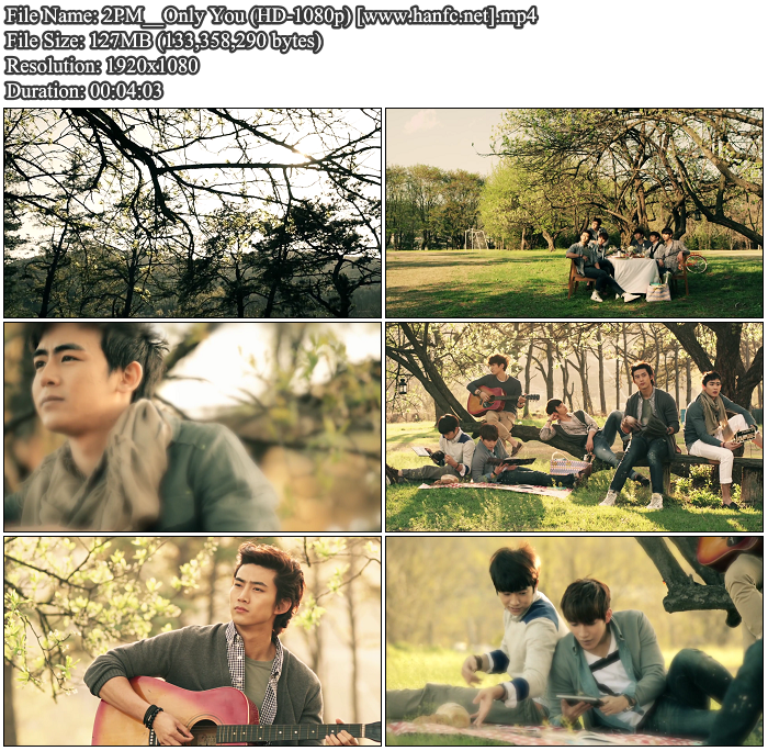 [MV] 2PM   Only You (Remake) (HD 1080p)
