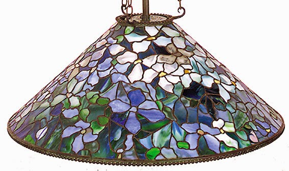 Authentic tiffany lamp expert antique tiffany lamps how to tell know what shapes of shades tiffany made he only made a few shapes regardless of the design once you know the shapes of shades he made mozeypictures Gallery