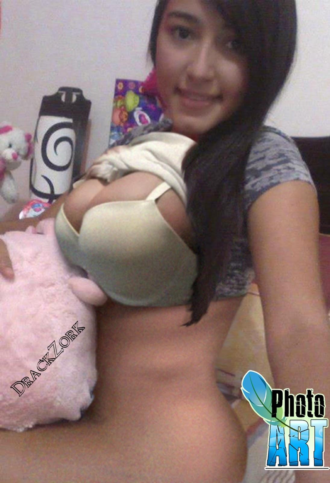 Tremendas Tetas De Colombiana Del Facebook