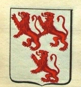 La 1ère représentation des armoiries des seigneurs de Creully