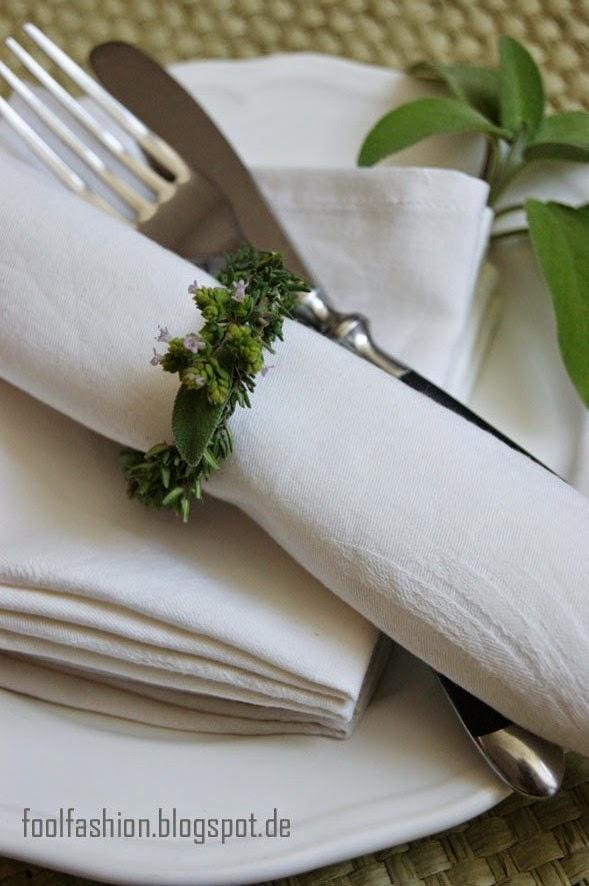 Stoffservietten als Alternative zu Papierservietten