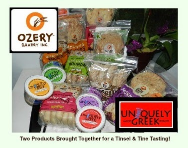 Ozery Bakery Morning Rounds & Uniquely Greek Feta Spreads
