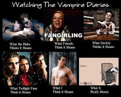 Watching The Vampire Diaries Meme