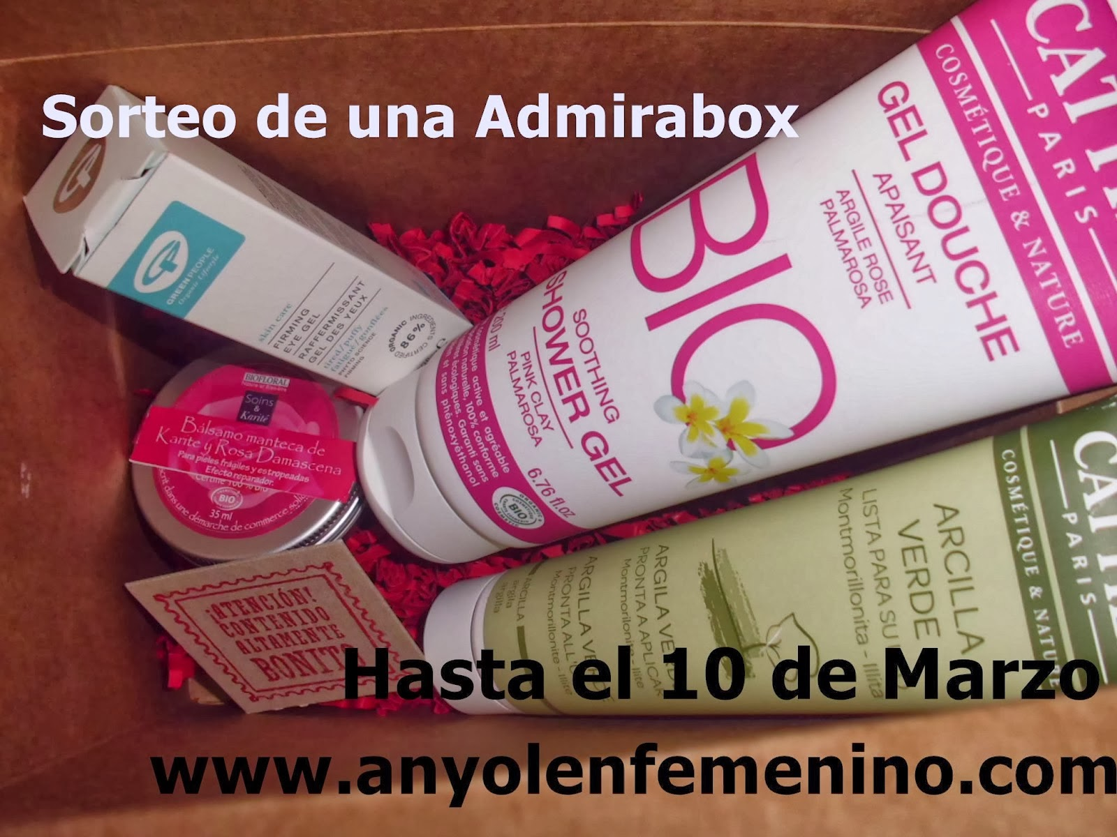 Sorteo admirabox