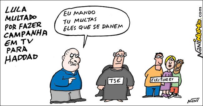 "Lula conjuga o verbo ""mandar"""