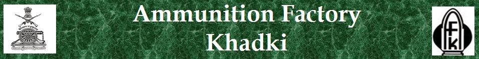 Ammunition Factory Khadki Logo