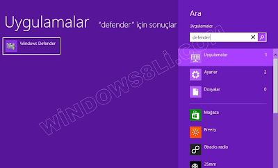 Windows Defender Açma