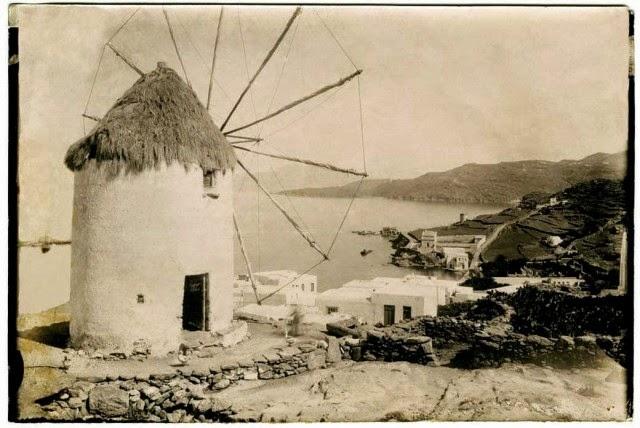 Ветряные мельницы - одна из визитных карточек Миконоса