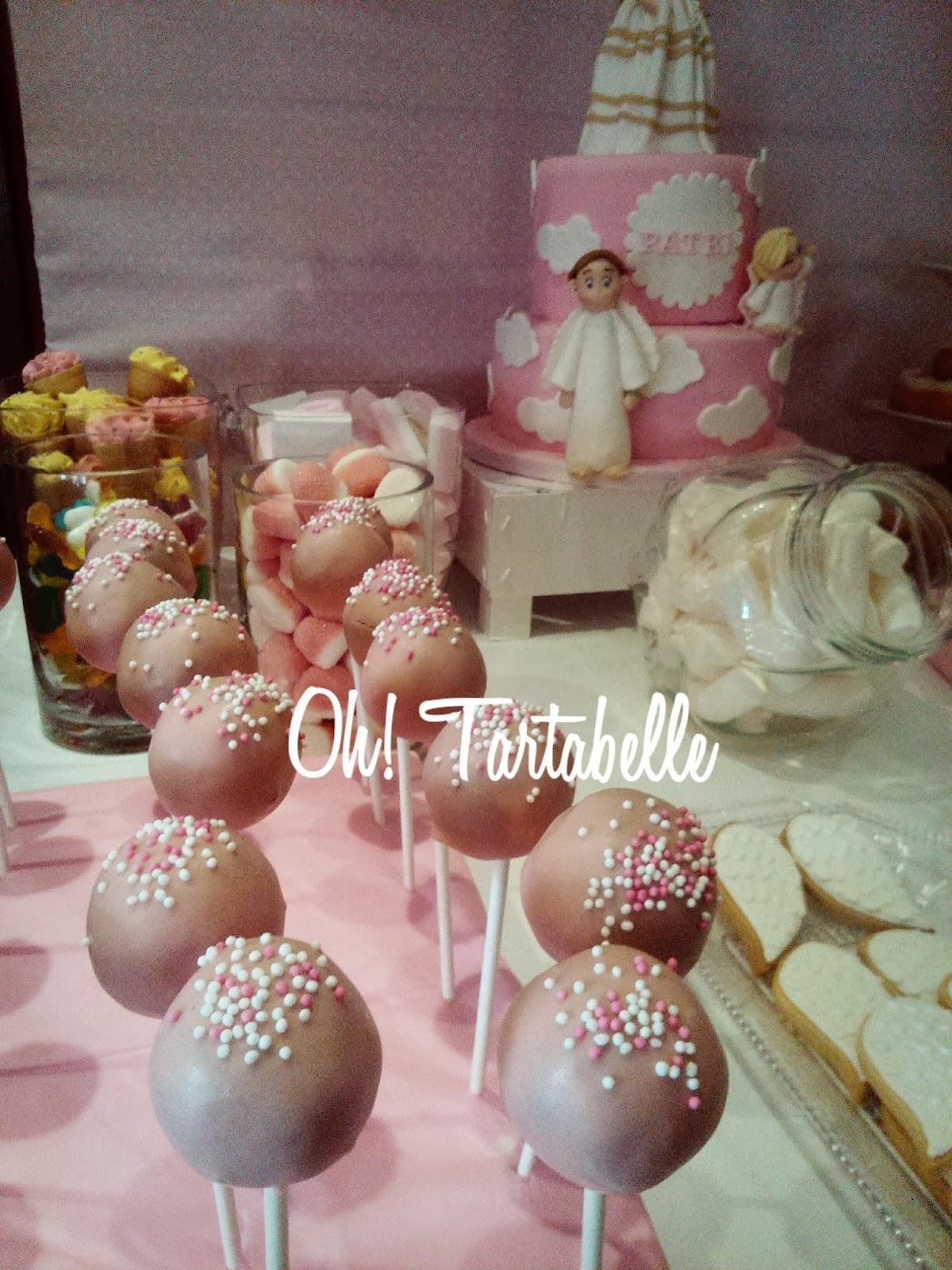 Oh tartabelle mesas dulces y tartas para comuniones for Decoracion mesas dulces