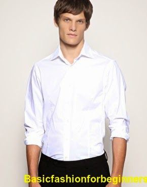 White shirt fashion