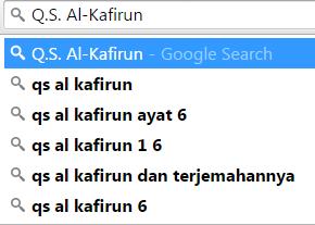 Isi Kandungan dan Perilaku Yang Tercermin dalam Q.S. Al-Kafirun