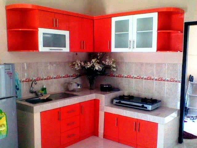 gambar kitchen set dapur kecil
