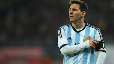 Lionel Messi jugador de oro