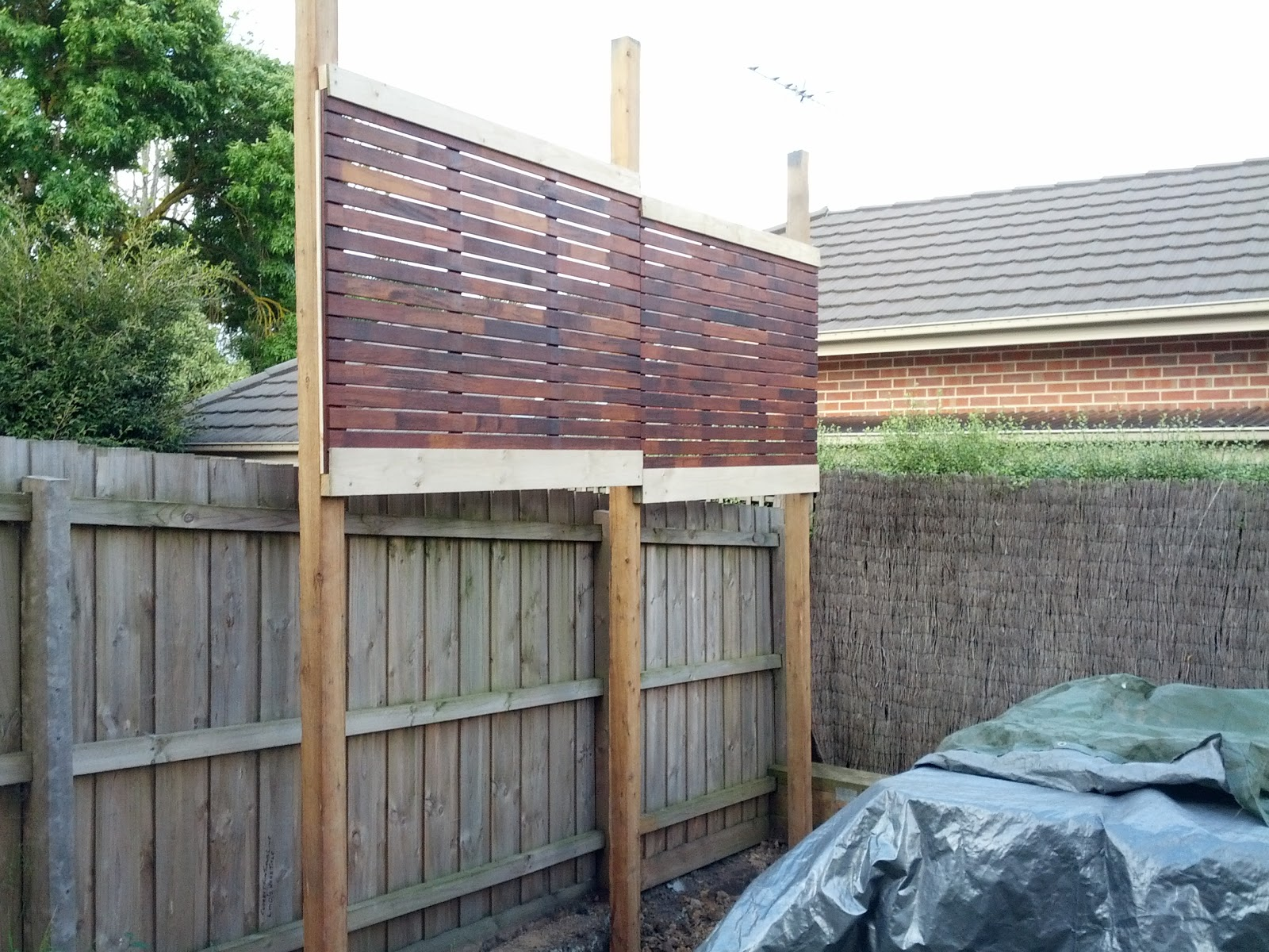 The house the car the kids privacy screens for Outdoor fence screens