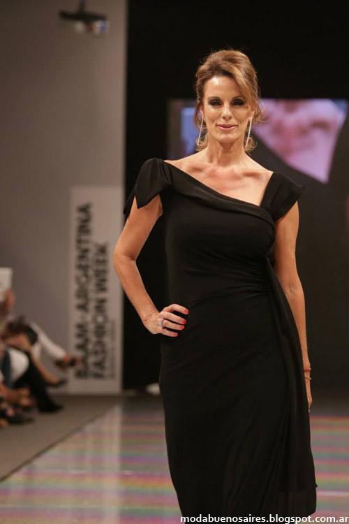 Adriana Costantini otoño invierno 2014 vestidos de moda invierno 2014.