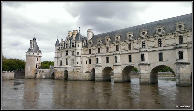 Château de Chenonceau pays de la Loire pont sur le Cher Renaissance, château des Dames