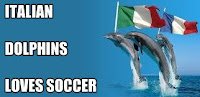ITALIAN DOLPHINS PLAYING SOCCER
