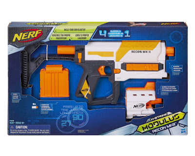 TOYS : JUGUETES - NERF N-Strike Modulus  Recon MKII   Blaster - Pistola  Producto Oficial 2015   Hasbro B4616   A partir de 8 años  Comprar en Amazon España & buy Amazon USA
