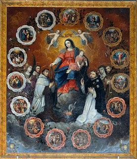 Sainte Vierge - DPTN - Rosaire - Scapulaire