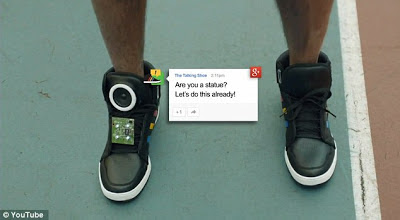 Google Walking Shoe
