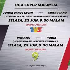result Liga Super Malaysia Selasa 23 Jun 2015