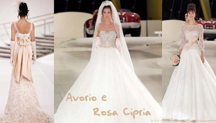 Abiti da sposa aimee rosa cipria
