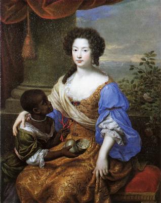 Cuenta la Historia con imágenes Louise-de-Keroualle-by-Pierre-Mignard