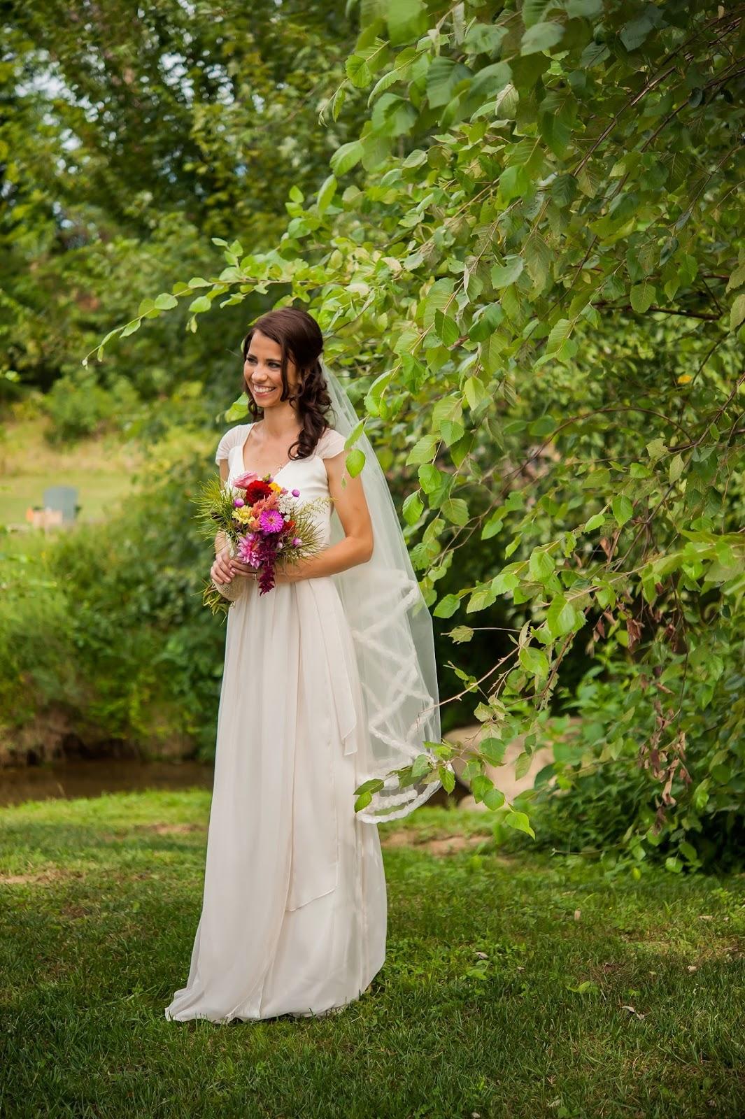 Lovely Ache: My Joanna August Wedding Dress + Bridal Accessories