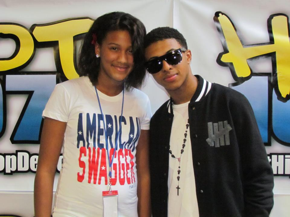 Diggy simmons and his sisters