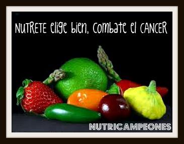 Nutricampeones alimentacion y habitos contra el cancer de mama - Alimentos contra el cancer de mama ...