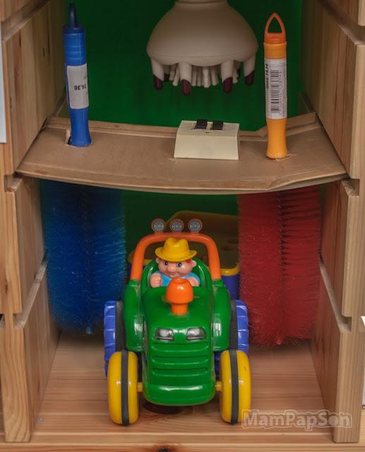 игрушечная автомойка