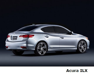 Acura ILX back