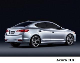 Acura ILX back