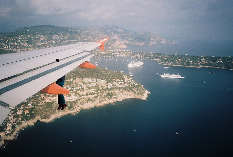 10. Dropping into Nice, France
