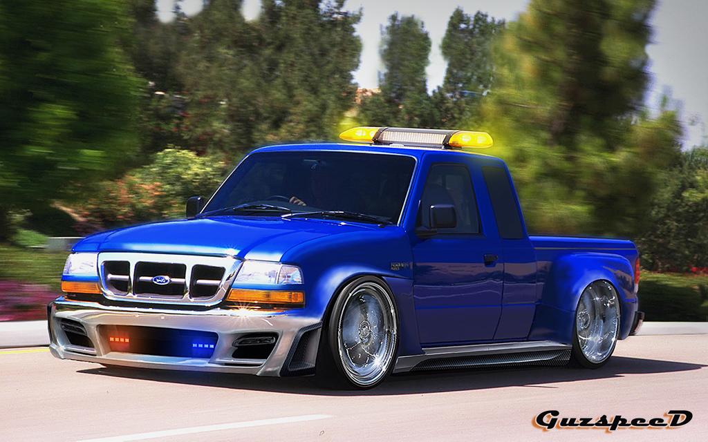 Ford Ranger Jdm : Ford ranger slammed modifinspirasi