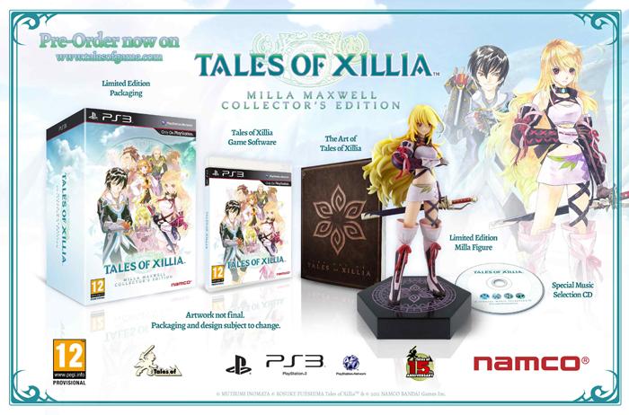 Edición de Coleccionista Milla Maxwell de Tales of Xillia