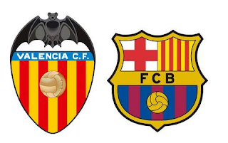 Historial de los Valencia (Local) vs Barcelona
