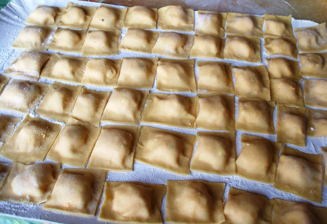 Tortelli di zucca...work in progress