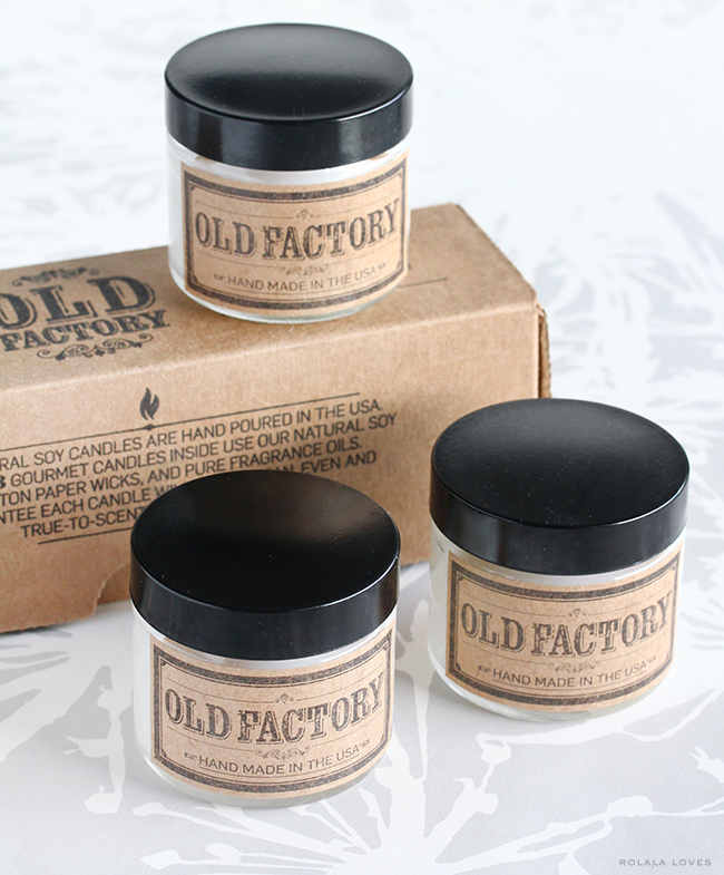 Old Factory Candle Review