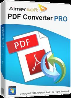 Aimersoft PDF Converter Pro 3
