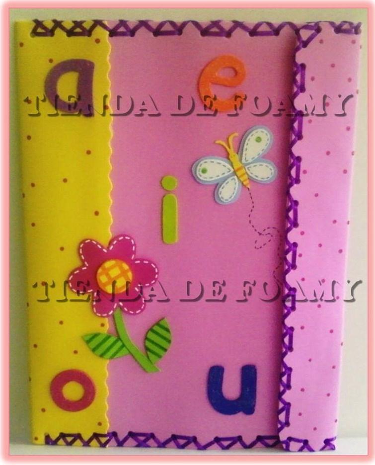 MODELOS DE CARPETAS DE FOAMY - Imagui